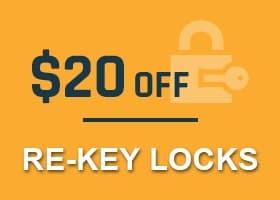 Rekey Locks Coupon